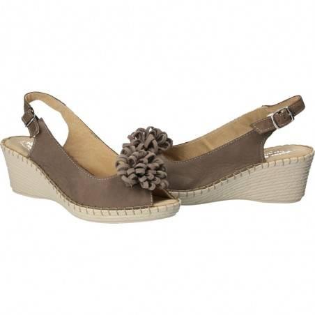Sandale de dama, din piele naturala, Natura Soft