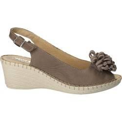 Sandale de dama, din piele...