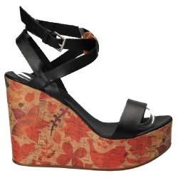 Sandale Fashion, din piele naturala, negre