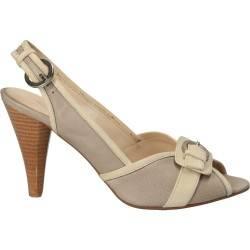 Sandale cu toc, pentru femei, culoarea gri
