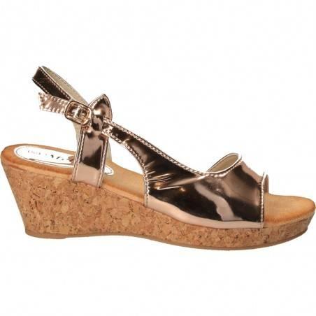 Sandale dama, casual, auriu, marca Mellisa