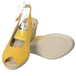 Sandale Natur Soft, din piele naturala, culoare galbena
