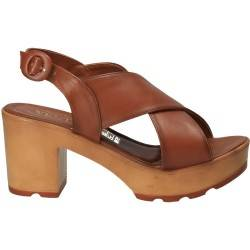 Sandale maro trendy, pentru femei, marca Ventes