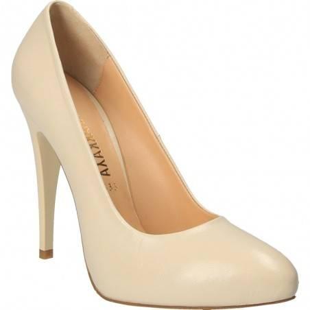 Pantofi de dama, de ocazie, culoarea bej