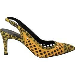 Pantofi de dama, imprimeu pantera, fashion