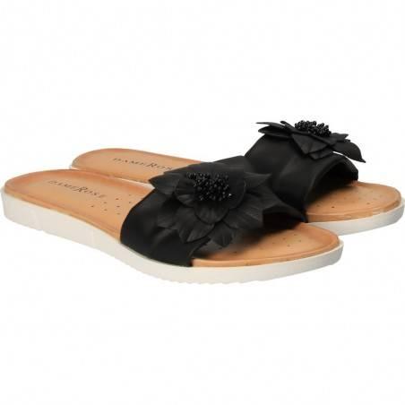Saboti dama casual negru marca Dame Rose VGFC2034N.MS