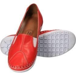 Pantofi de dama, din piele naturala, rosii, Da Vinci