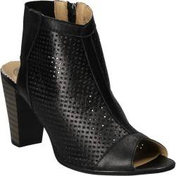 Sandale inalte, din piele naturala, marca Da Vinci