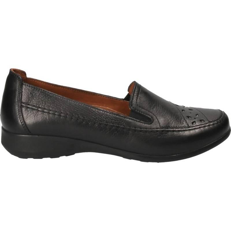 Pantofi clasici cu platforma, piele naturala, Da Vinci