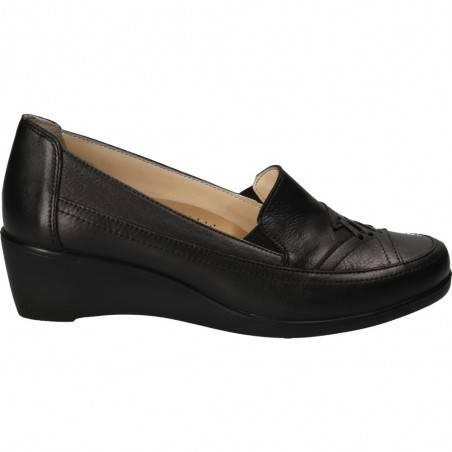 Pantofi Da Vinci, cu platforma, negri pentru dama