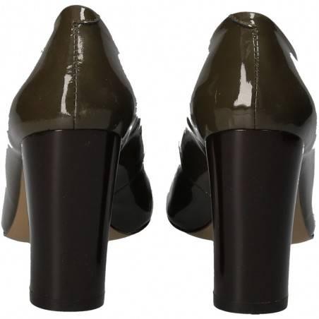 Pantofi lux de dama, cu toc, piele, CALVINA
