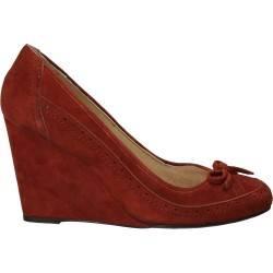 Pantofi cu platforma, velur, Oxford, marca Ayakkabi
