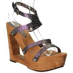 Sandale TALPA lemn, de dama, Fashion