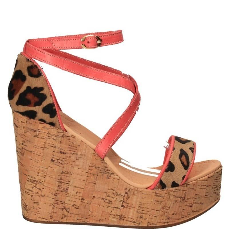 obtenir de nouveaux capture 2019 meilleurs Sandale leopard fashion, platforma, piele naturala