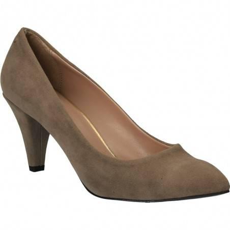 Pantofi gri, de ocazie, pentru femei, marca Ayakkabi