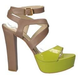 Sandale Fashion, de dama, din piele naturala