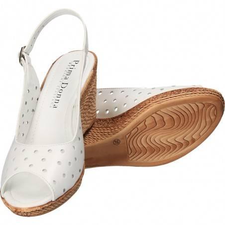 Sandale cu platforma, marca Prima Donna, din piele naturala