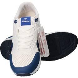 Pantofi sport barbati, albi, marca Timer