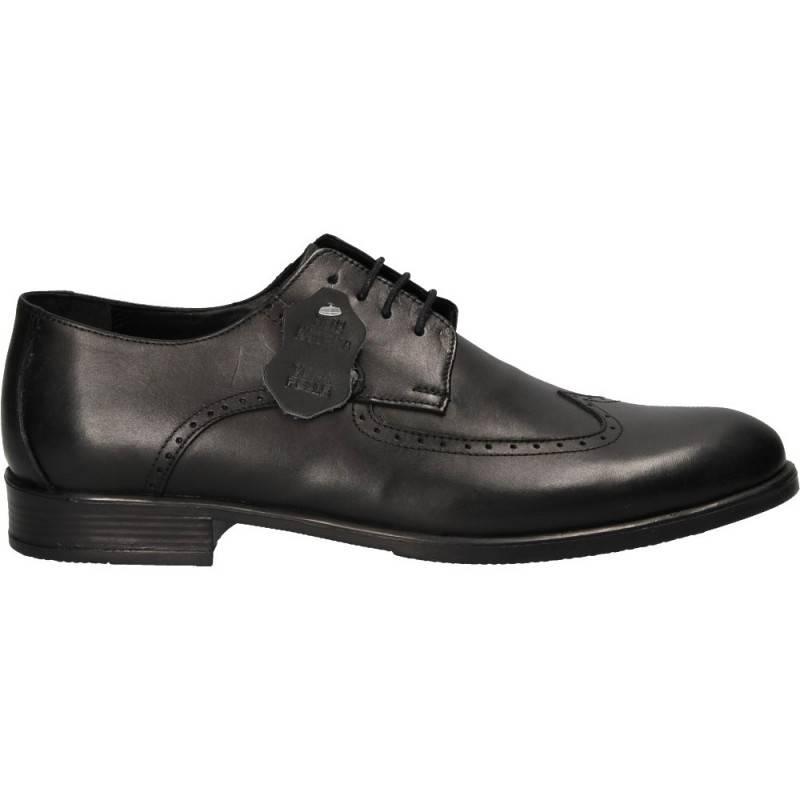 Pantofi clasici Oxford, din piele, pentru barbati