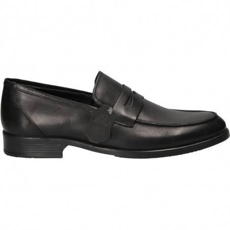 Pantofi fara siret, din piele, pentru barbati, Best Walk
