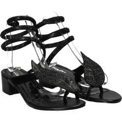 Sandale fashion sneak style, negre, marca Flyfor