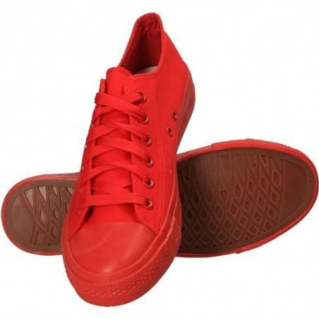 Tenisi rosii, trendy, pentru barbati, marca Mondo Naturale
