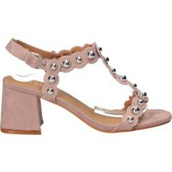 Sandale fashion, roz închis, Sweet Shoes