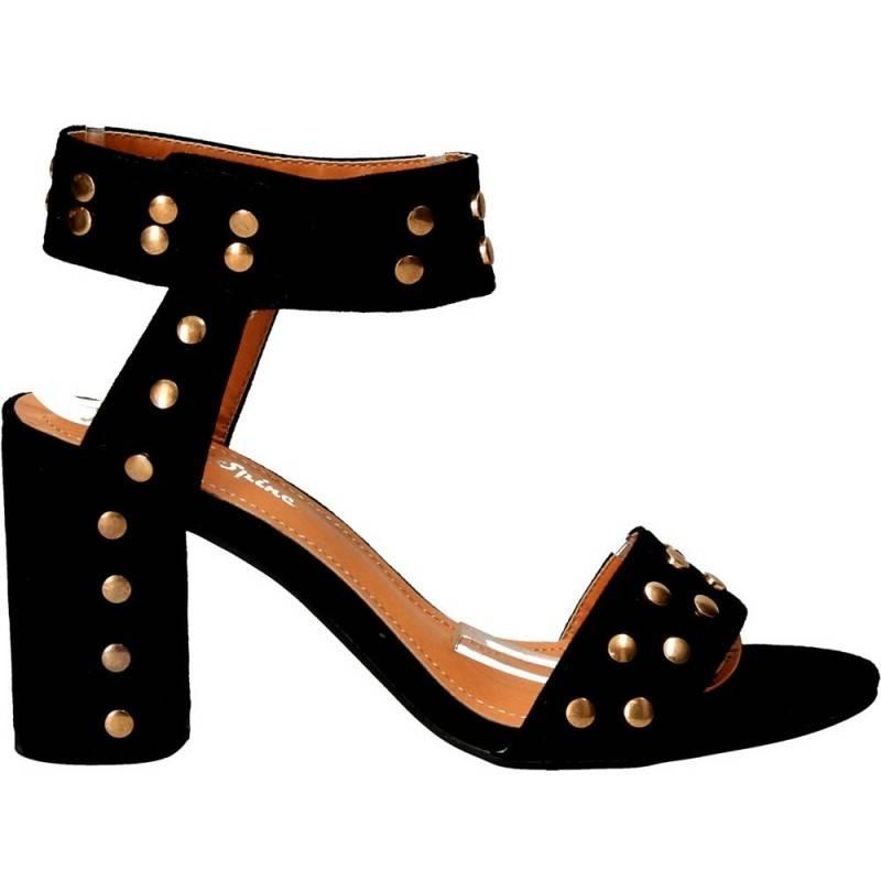 Sandale fashion cu închidere pe glezna
