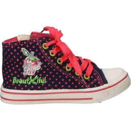 Pantofi Sport Fete Violet cu Inimioara roz