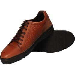 Pantofi maro, din piele naturala, Da Vinci, pentru barbati