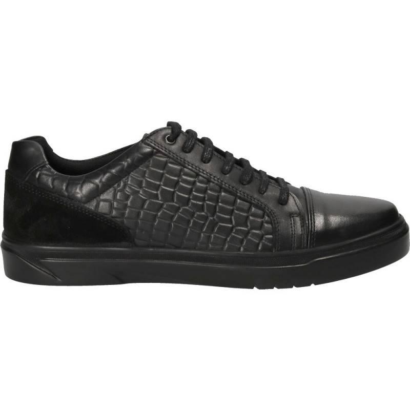 Pantofi all season, negri, Da Vinci, din piele naturala