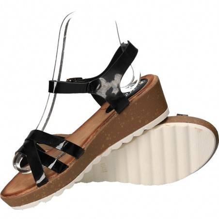 Sandale negre, marca Mellisa pentru femei