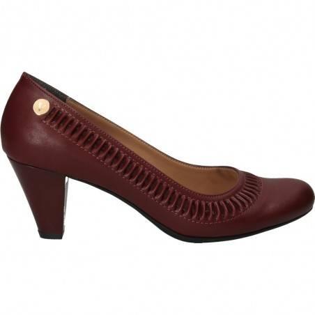 Pantofi eleganti de dama, Ventes, bordeaux