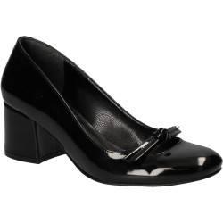 Pantofi lac de gala, negri, marca Ventes