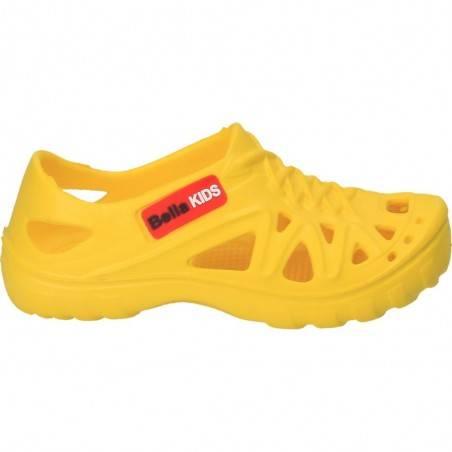 Pantofiori galbeni, din spuma, pentru copii