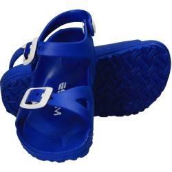 Sandale albastre din spuma, pentru baieti