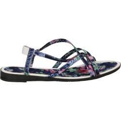 Sandale simple florale pentru femei