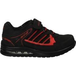 Pantofi sport Akinal pentru copii, culoarea neagra