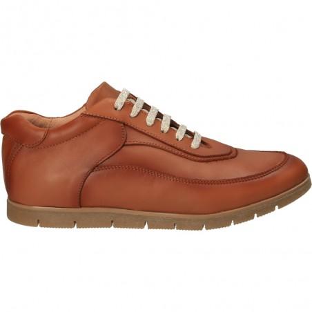 Pantofi casual, din piele naturală, gradient brown