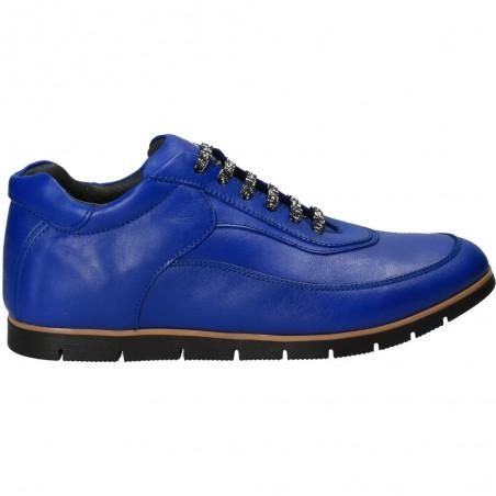Pantofi de damă, albaștri, stil urban