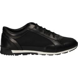 Pantofi din piele si plasa,...