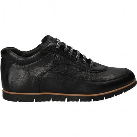 Pantofi negri, din piele naturala, pentru femei