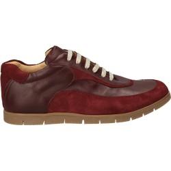 Pantofi bordeaux, din piele...
