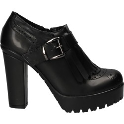 Pantofi de dama moderni cu platforma si toc