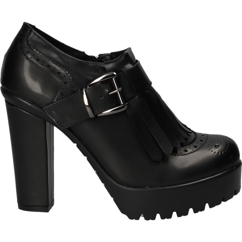Pantofi dama, inalti, Oxford, stil office