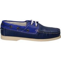 Pantofi mocasini albastri,...