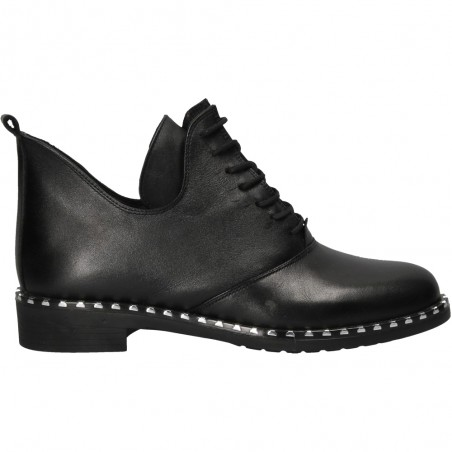 Pantofi fashion inalti, de dama, din piele naturala