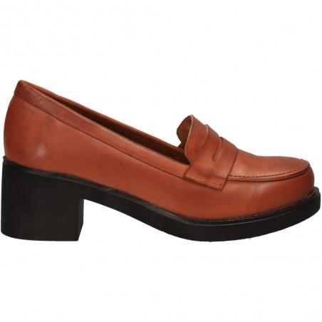 Pantofi în stil new vintage, din piele naturala