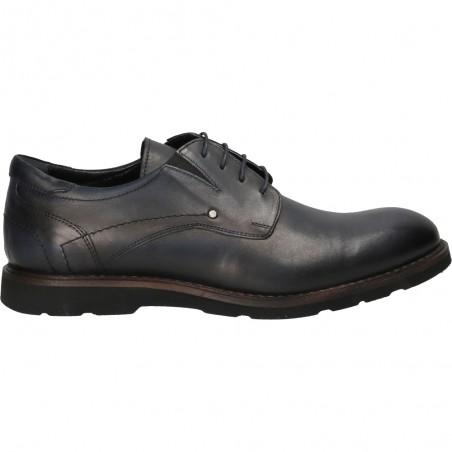 Pantofi barbatesti trendy bleumarin, piele naturala