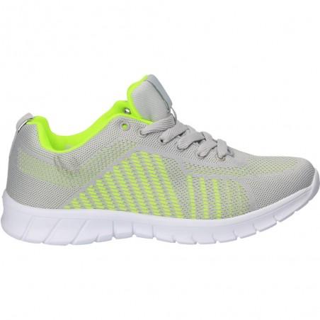 Pantofi barbatesti de sport, culoarea gri
